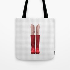 My lovely rain booths Tote Bag