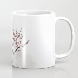 Blooming Skeleton (bright version) Coffee Mug