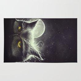 Owl & The Moon Rug