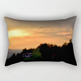 Torino Sunset No.2 | Nadia Bonello Rectangular Pillow