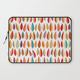 Mid-Century Modern Leaves Pattern Collection 1 Laptop Sleeve