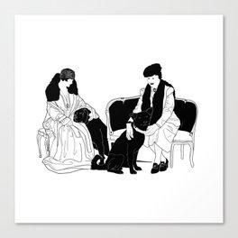 GERTIE Canvas Print