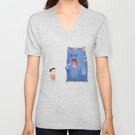 Hungry Monster Unisex V-Neck