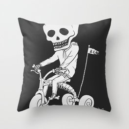 Death Kid Bone Ride Throw Pillow