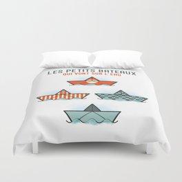 Les Petits Bateaux - Nautical Flags Edition Duvet Cover