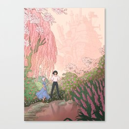 Howls Moving Caslte Canvas Print
