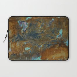Blue Lagoons in Rusty World Laptop Sleeve