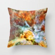 Carina Nebula Throw Pillow