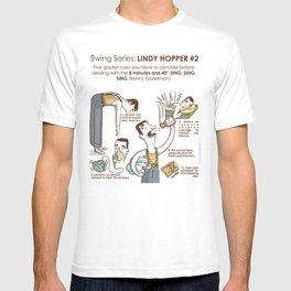 SWING SERIES: LINDY HOPPER #2 T-shirt