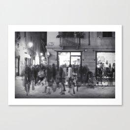 La Vasca - Santo Stefano, Reggio Emilia Canvas Print