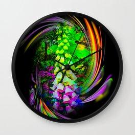 Flowermagic - Thimble Wall Clock