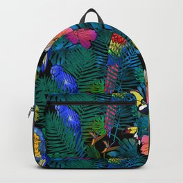 Tropical Birds and Botanicals Backpack
