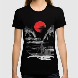 Japan Fisherman Art T-shirt