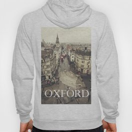 Red buses at Oxford Hoody