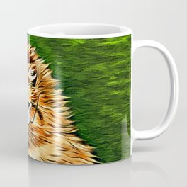 ORANGE TABBY CAT - Louis Wain's Cats Coffee Mug
