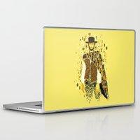 klimt Laptop & iPad Skins featuring Klimt Eastwood by Frederick Hoffman