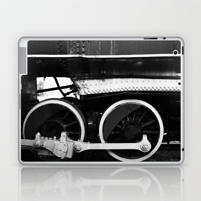 Train Wheels Laptop & iPad Skin
