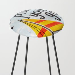 Oh the Places You'll Go - Dr. Seuss Counter Stool