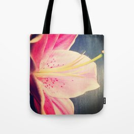 Stargazer Lily - iPhoneography Tote Bag