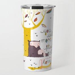 You catch more flies with honey Travel Mug
