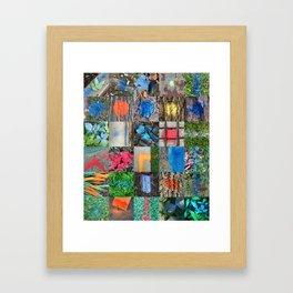 NVSV SPCS_grid Framed Art Print