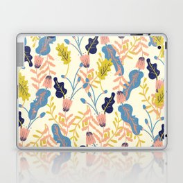 Pastel Floral Pattern Laptop & iPad Skin