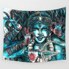 Goddess Kali Wall Tapestry