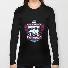 Indigo League Champion - Blue Version Long Sleeve T-shirt