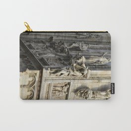Milan Cathedral / Exterior Sculpture Study #4 / Piazza Duomo - Italy Carry-All Pouch