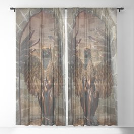 Hippogriff Entrance Sheer Curtain