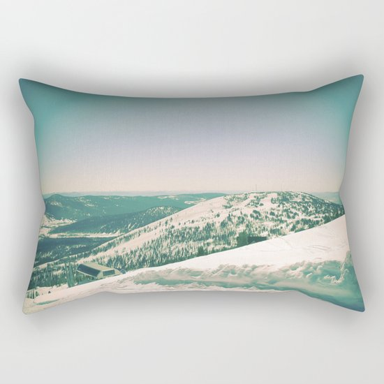 Winter 5 Rectangular Pillow