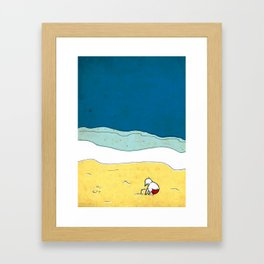 past summers Framed Art Print