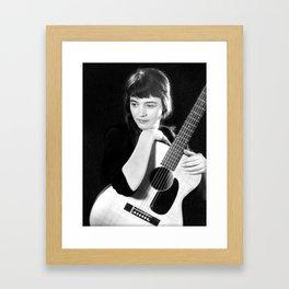 Karen Dalton, 60's Framed Art Print