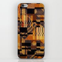 art deco iPhone & iPod Skins featuring art deco by clemm