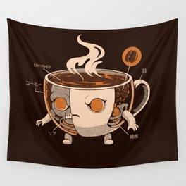 Coffeezilla X-ray Wall Tapestry