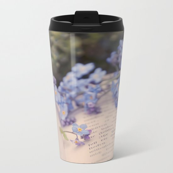 They are not your friends until they have defended you in your absence. Metal Travel Mug