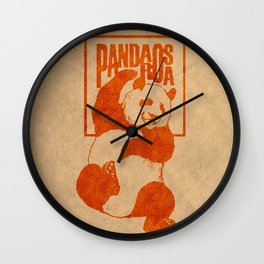 Pandarosa Summer Showcase 2011 Wall Clock