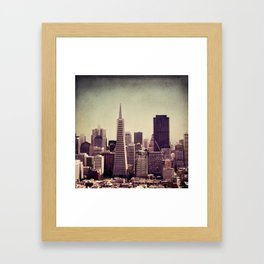 you can't beat that view Framed Art Print