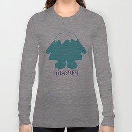 Mt. Fuji  Long Sleeve T-shirt
