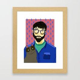 THE FURRIES #03 Framed Art Print