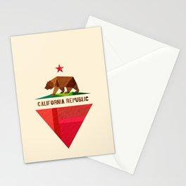 California 2 (rectangular version) Stationery Cards