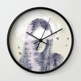 Moon Shine Wall Clock