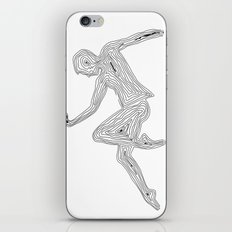 Dancing with myself - unfinished dream iPhone & iPod Skin