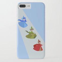 3 Fairies (Blue)  iPhone Case