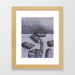 Portable Nebulizer Repeat Framed Art Print