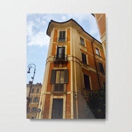 Itallian Deco Apartment Building Metal Print