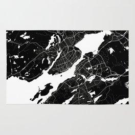 Halifax - Minimalist City Map Rug