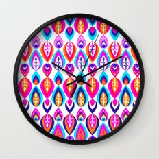 Pierrot II/Happy Memoir Pattern Wall Clock