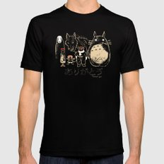 Tribute for Miyazaki Mens Fitted Tee LARGE Black