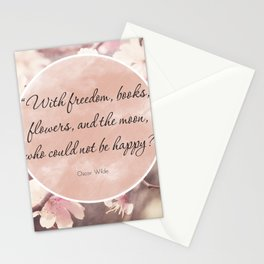 Freedom & Books Stationery Cards